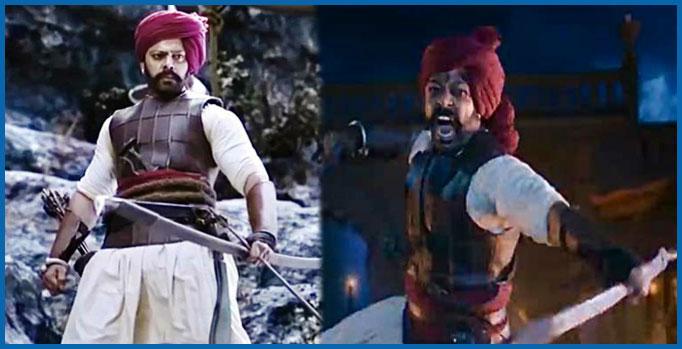 देवदत्त नागेची 'तान्हाजी 'मध्ये भूमिका
